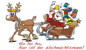 weihnachtsmann-grusskarte