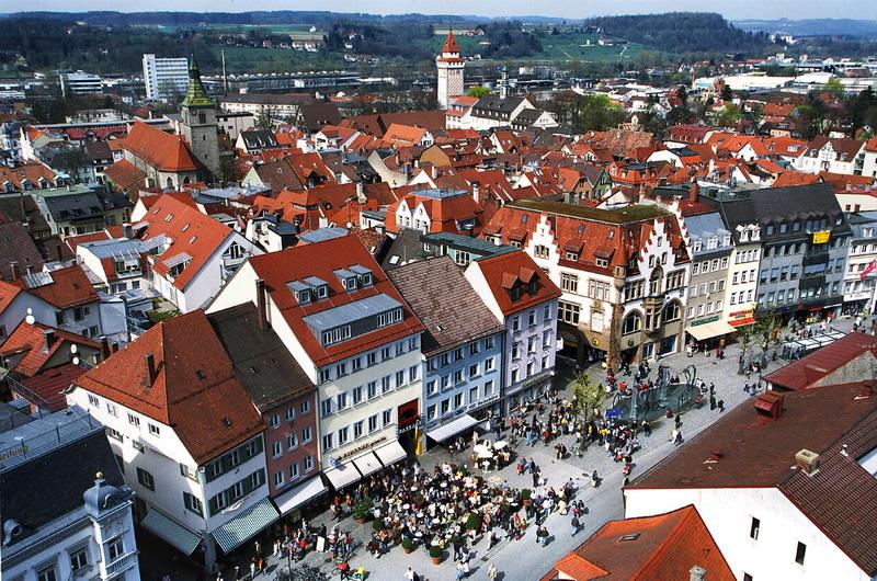 Stadtansicht-Marienplatz-Foto-Stadt-Ravensburg
